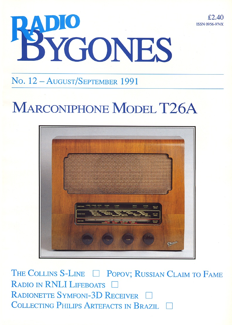 Radio Bygones Issue 12 - PDF