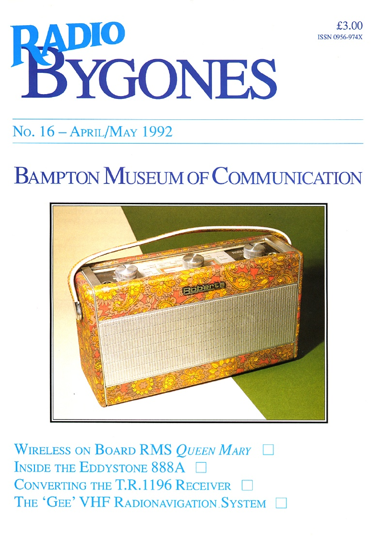 Radio Bygones Issue 16 - PDF