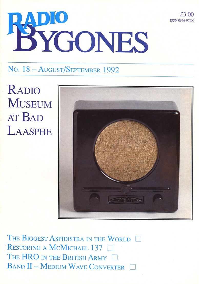 Radio Bygones Issue 18 - PDF