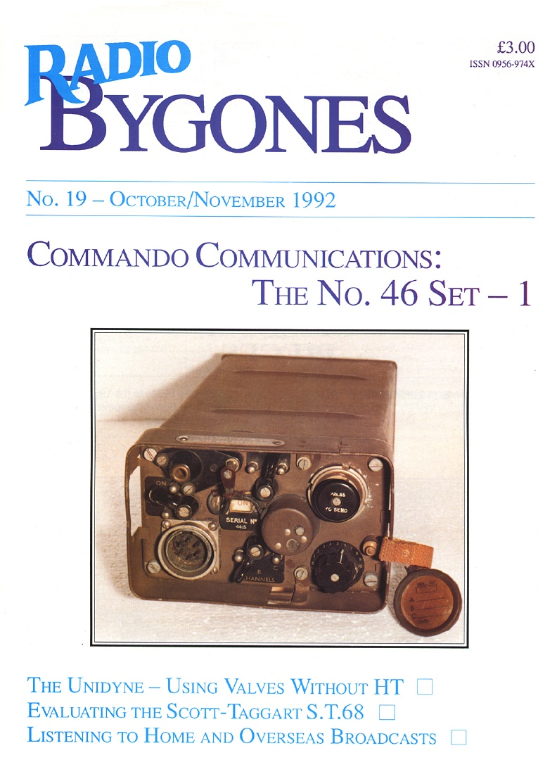 Radio Bygones Issue 19 - PDF