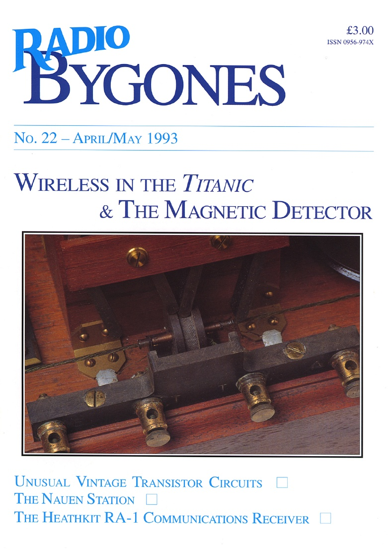 Radio Bygones Issue 22 - PDF