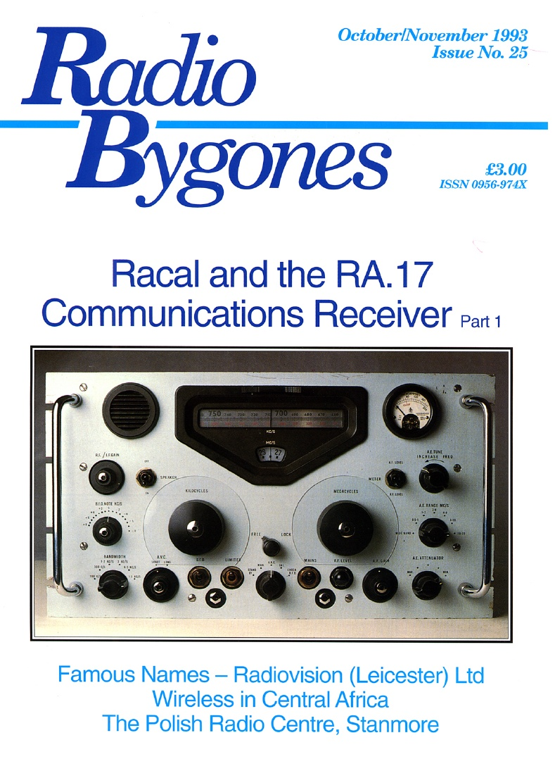 Radio Bygones Issue 25 - PDF