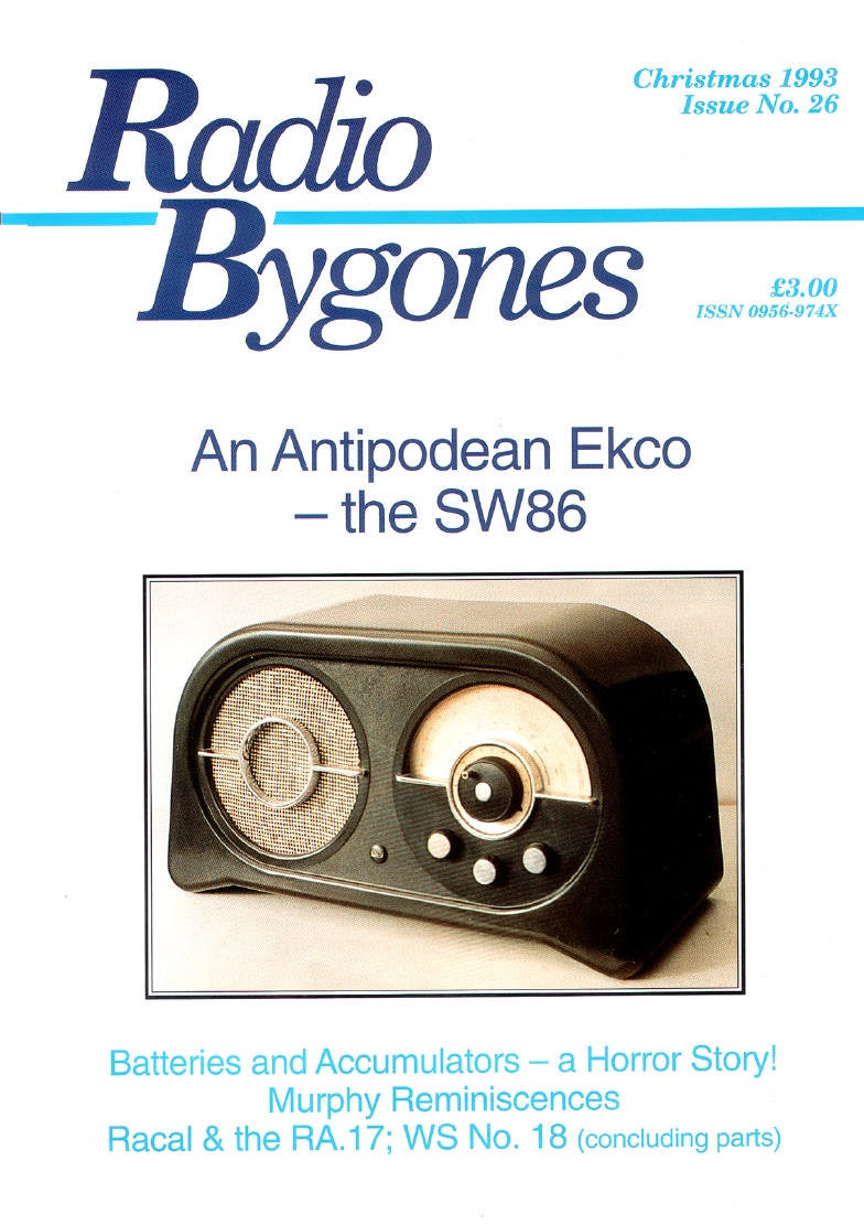 Radio Bygones Issue 26 - PDF