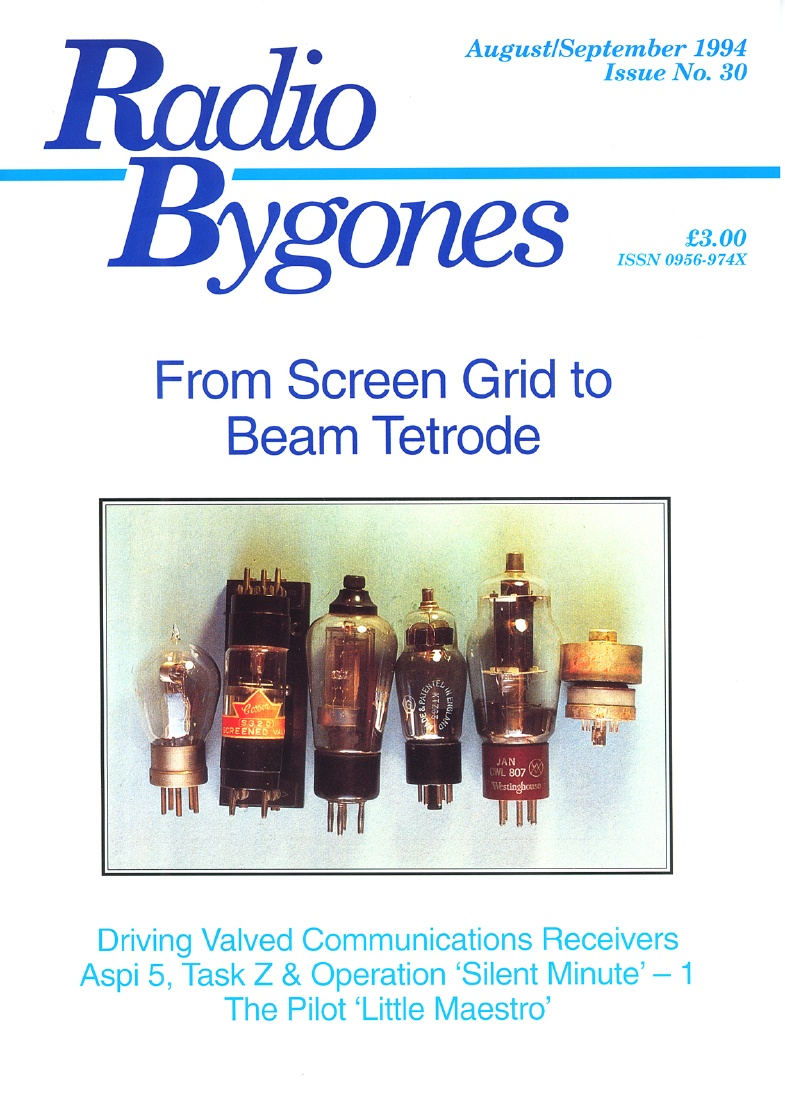 Radio Bygones Issue 30 - PDF