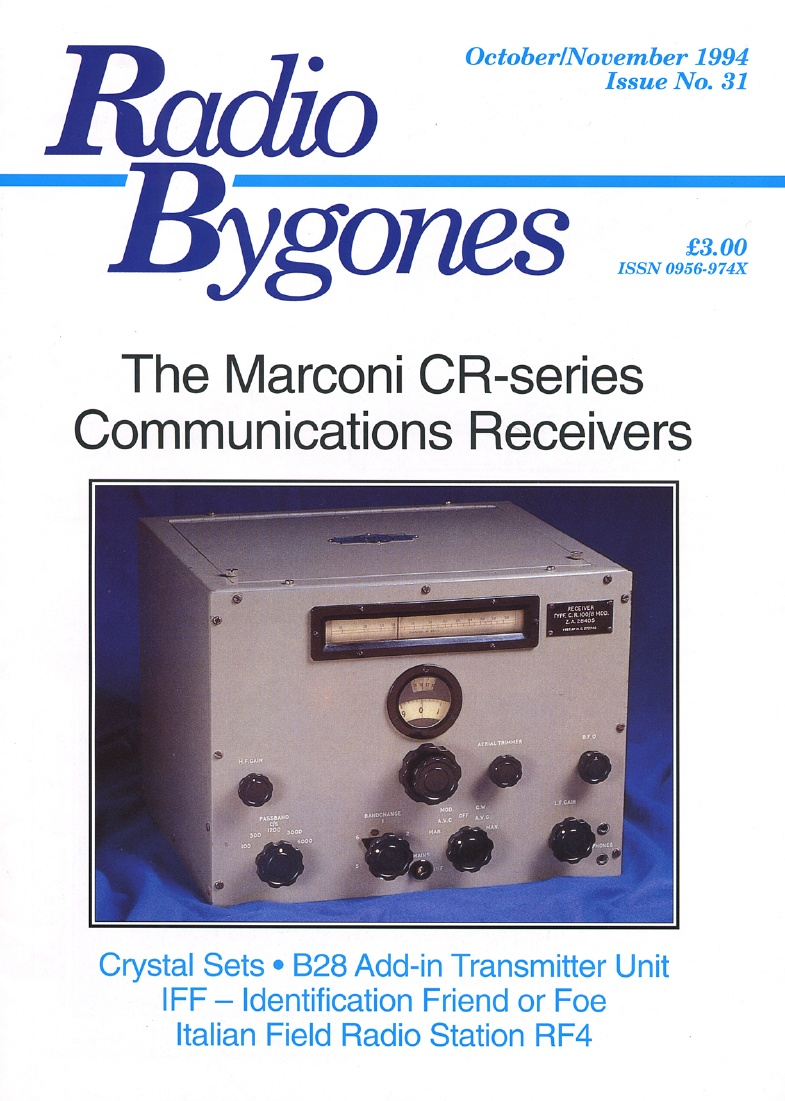 Radio Bygones Issue 31 - PDF