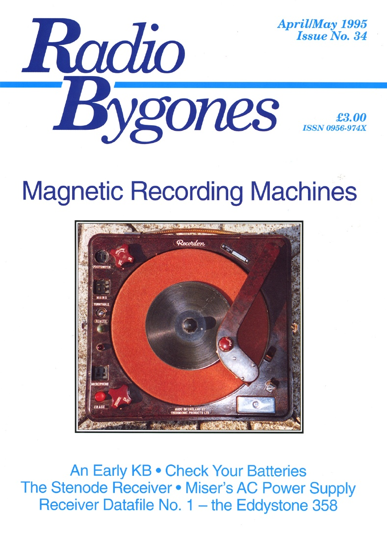 Radio Bygones Issue 34 - PDF