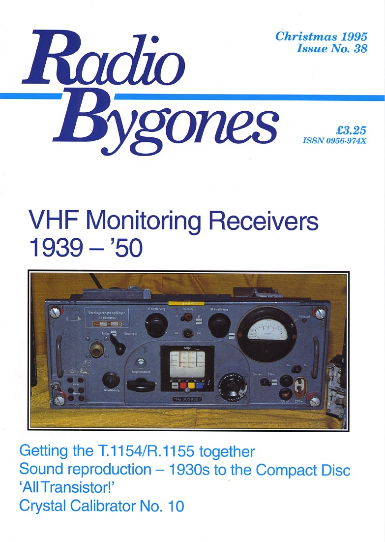 Radio Bygones Issue 38 - PDF