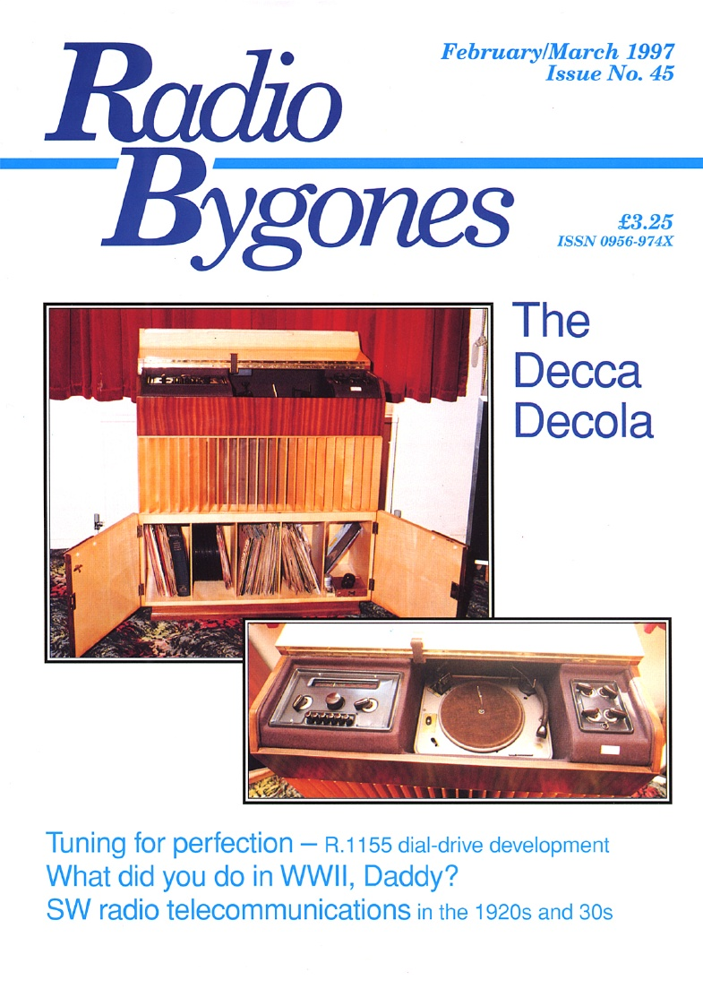 Radio Bygones Issue 45 - PDF
