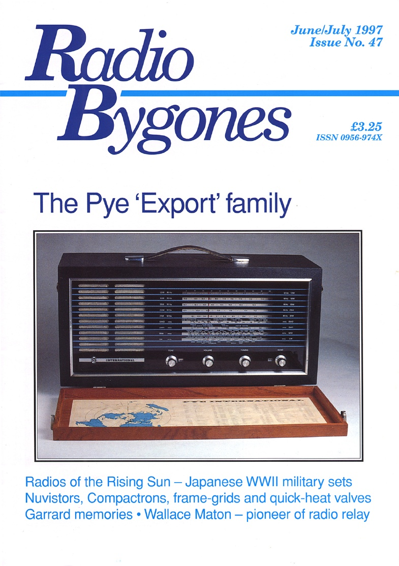 Radio Bygones Issue 47 - PDF
