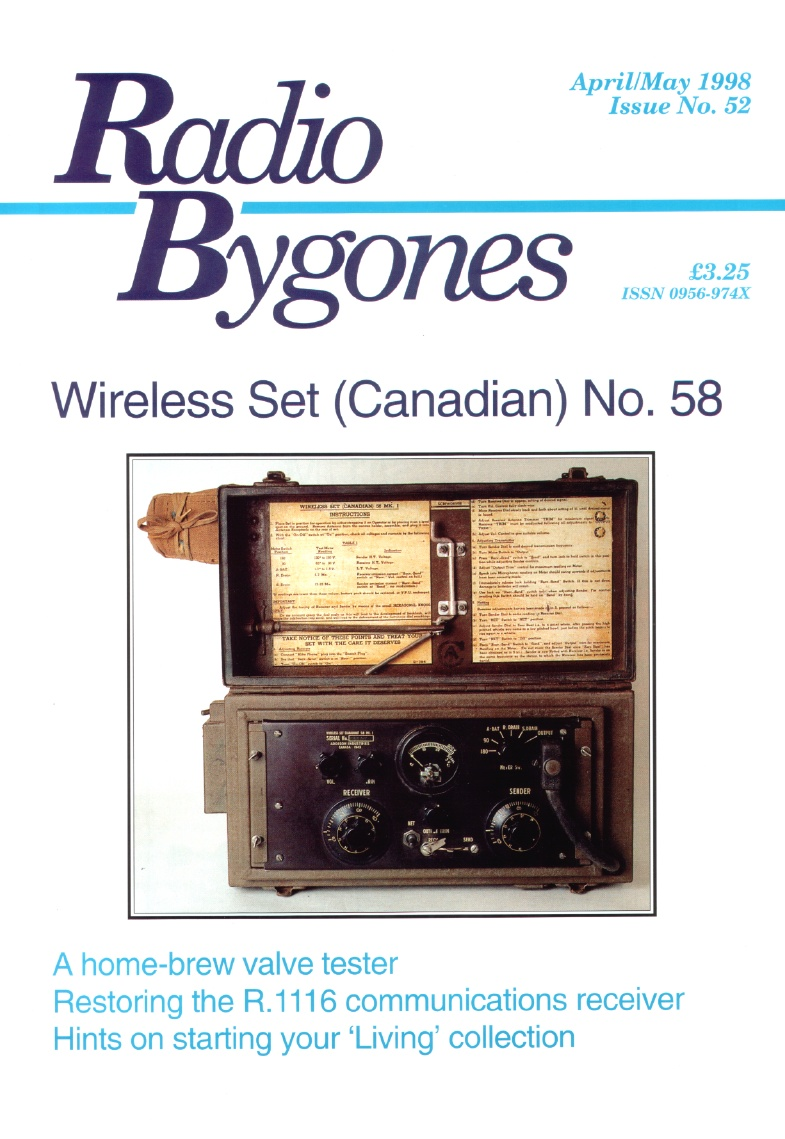 Radio Bygones Issue 52 - PDF