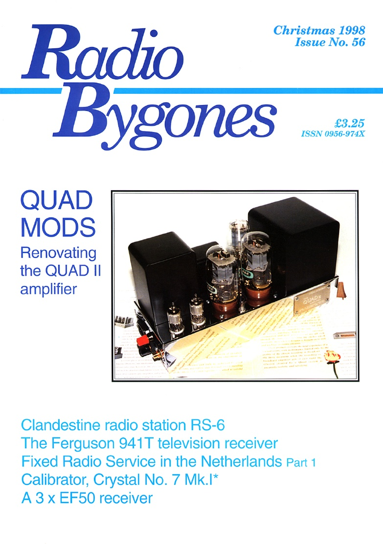 Radio Bygones Issue 56 - PDF