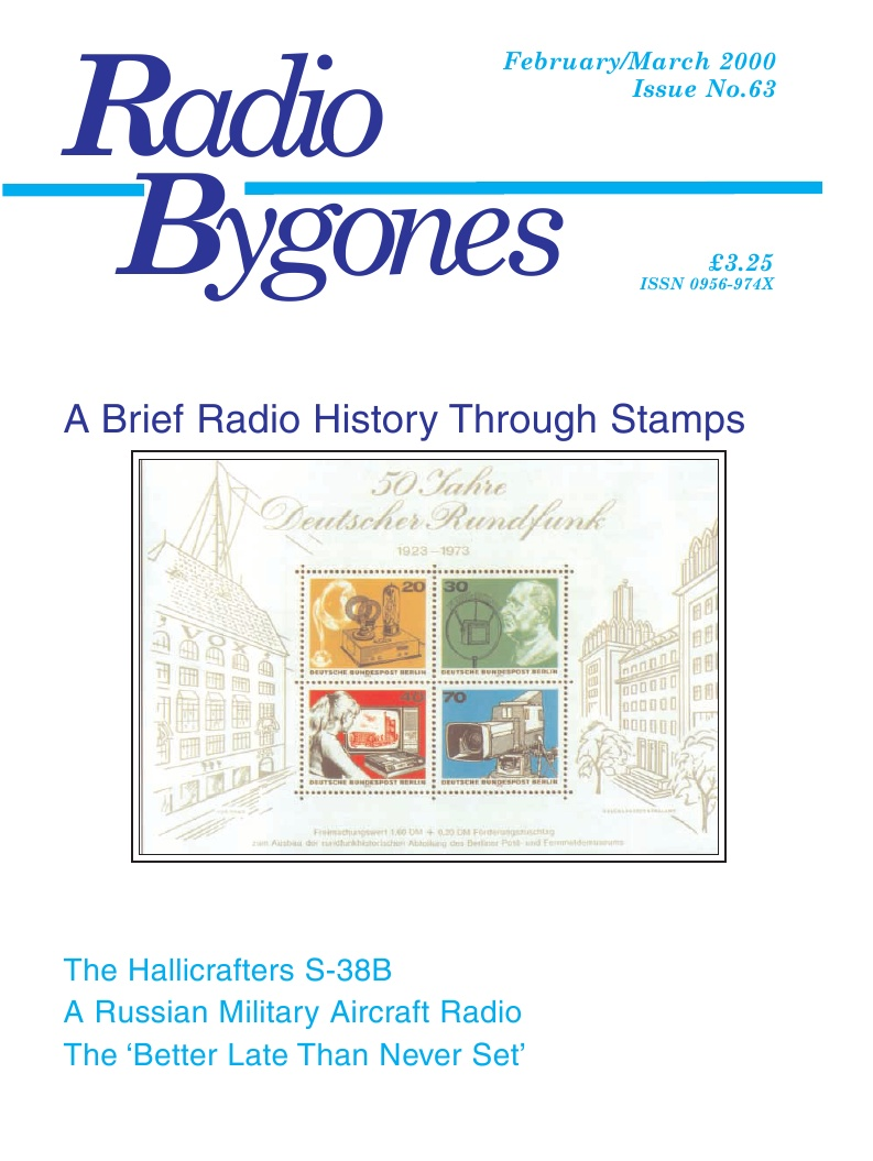 Radio Bygones Issue 63 - PDF
