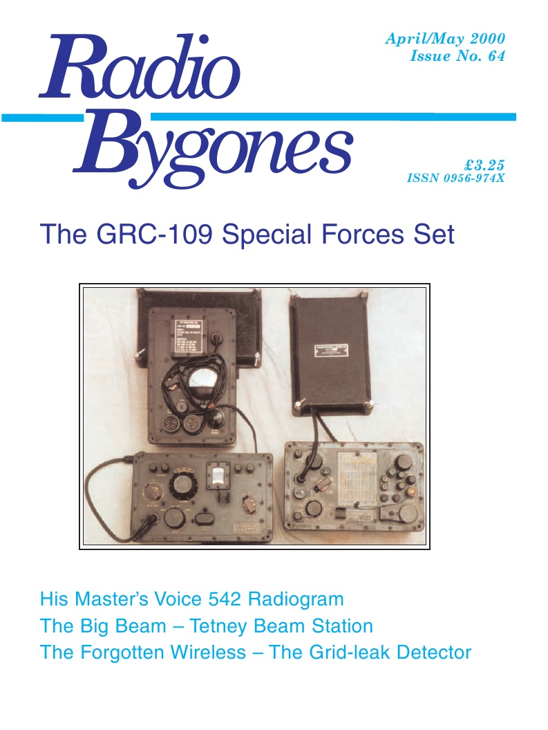 Radio Bygones Issue 64 - PDF