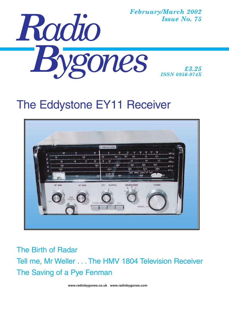 Radio Bygones Issue 75 - PDF
