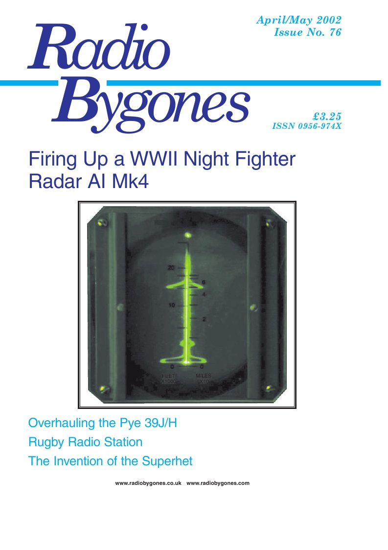 Radio Bygones Issue 76 - PDF