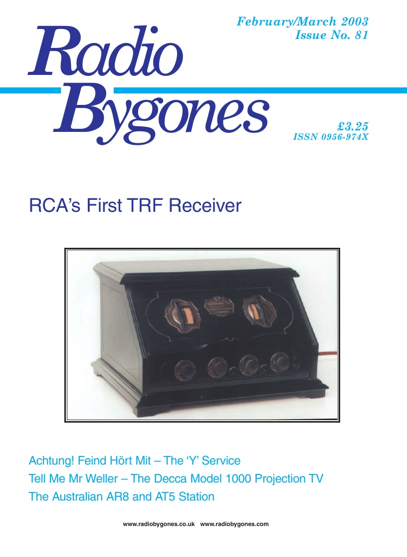 Radio Bygones Issue 81 - PDF
