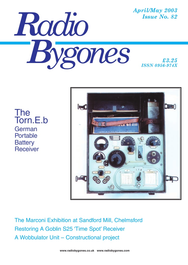 Radio Bygones Issue 82 - PDF