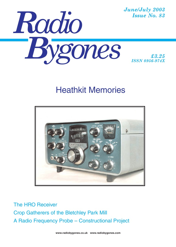 Radio Bygones Issue 83 - PDF
