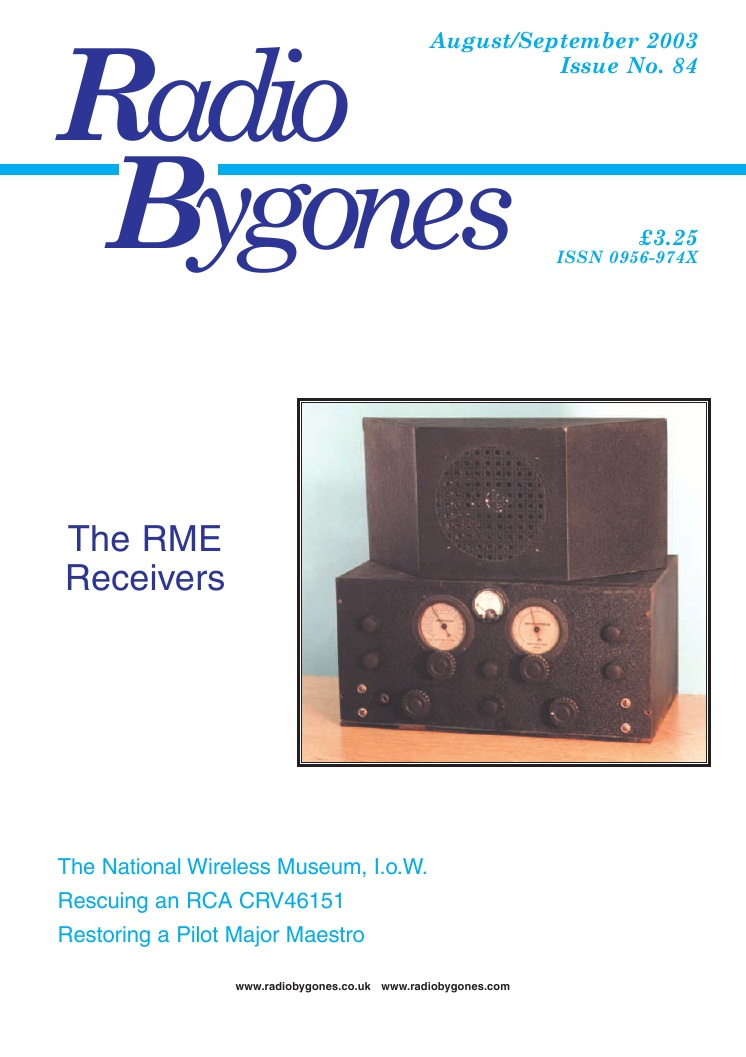 Radio Bygones Issue 84 - PDF