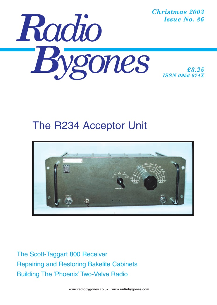 Radio Bygones Issue 86 - PDF