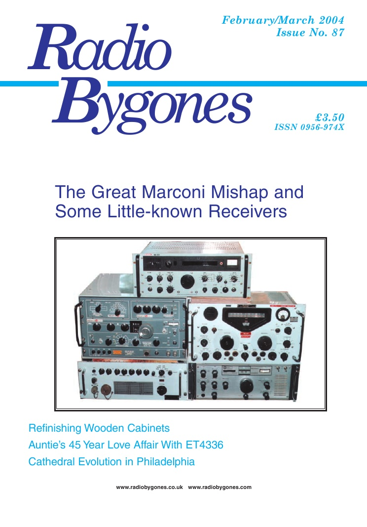 Radio Bygones Issue 87 - PDF