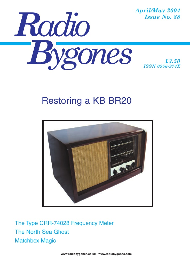 Radio Bygones Issue 88 - PDF