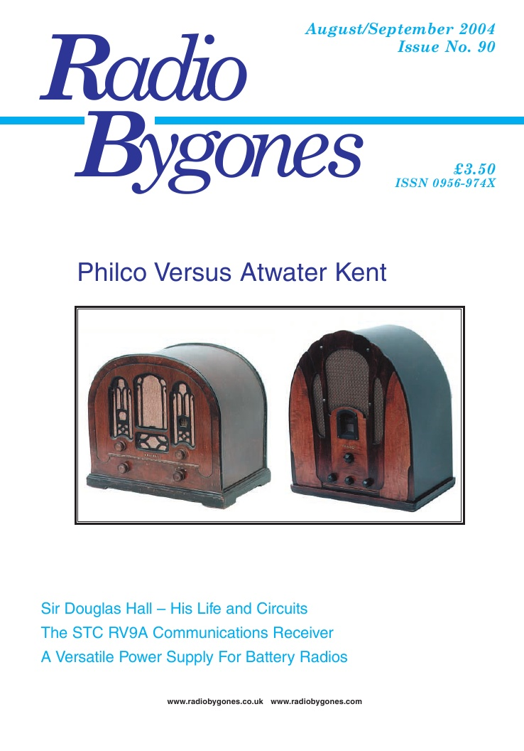 Radio Bygones Issue 90 - PDF