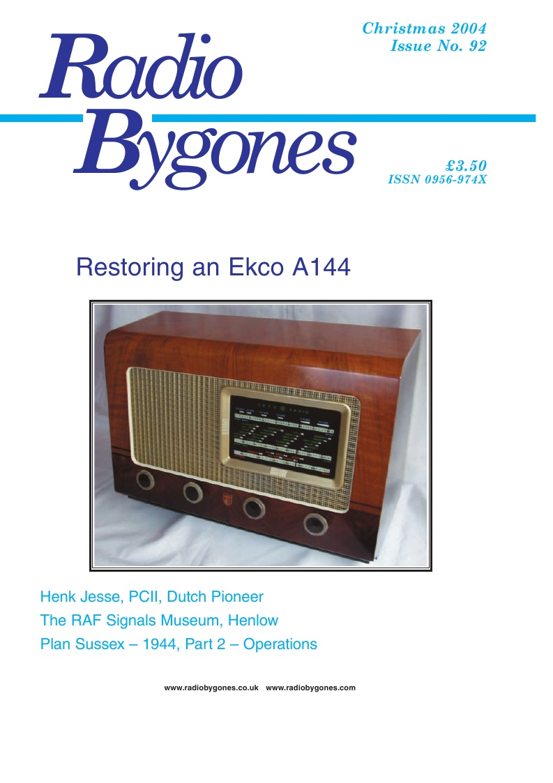 Radio Bygones Issue 92 - PDF