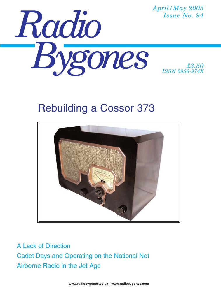 Radio Bygones Issue 94 - PDF