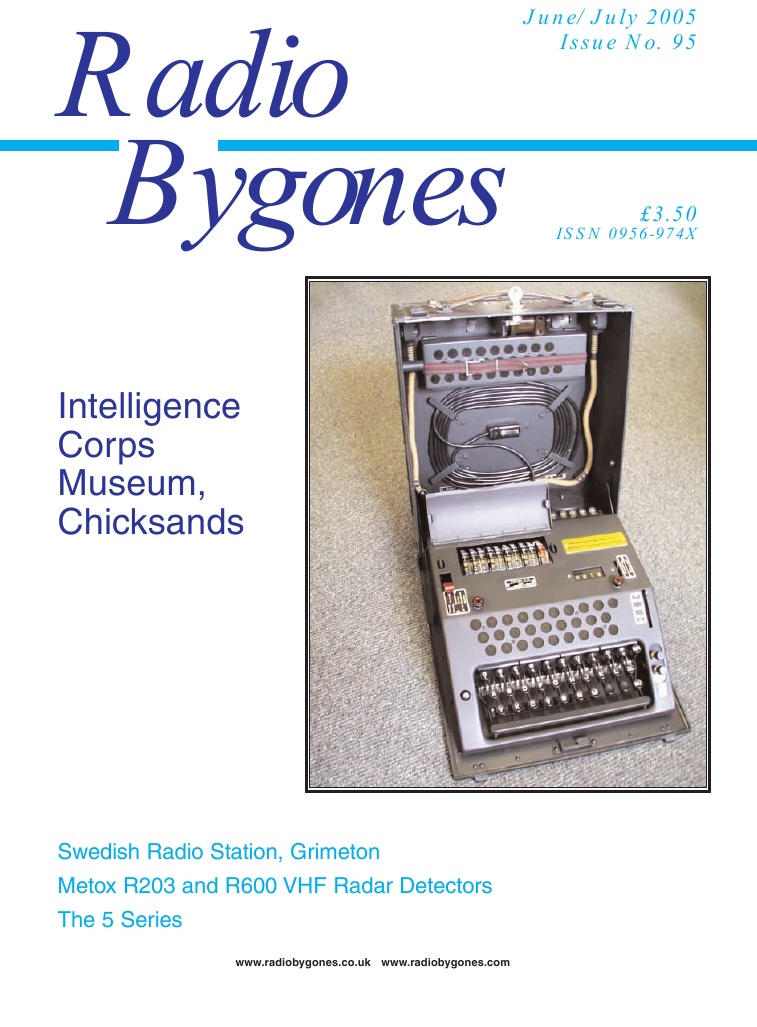 Radio Bygones Issue 95 - PDF