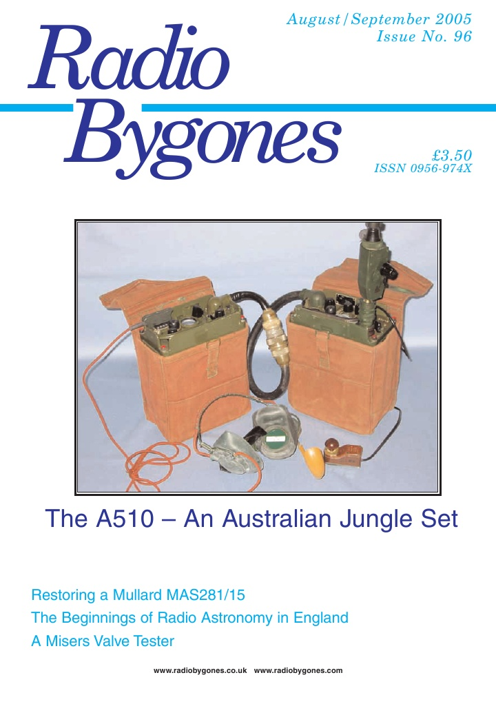 Radio Bygones Issue 96 - PDF