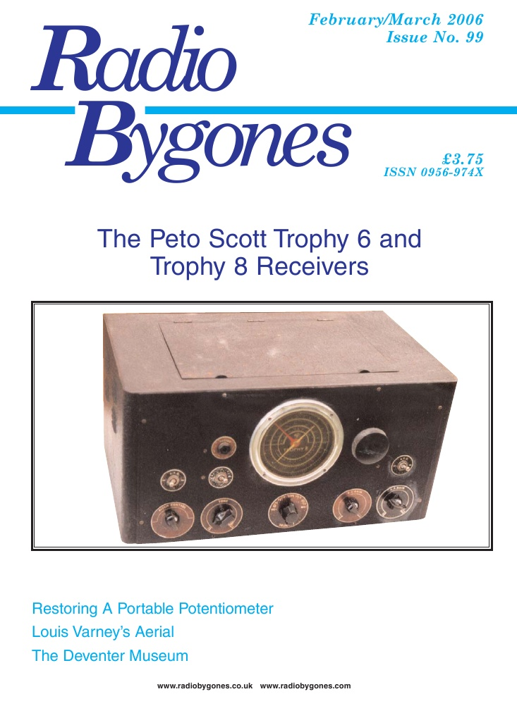 Radio Bygones Issue 99 - PDF