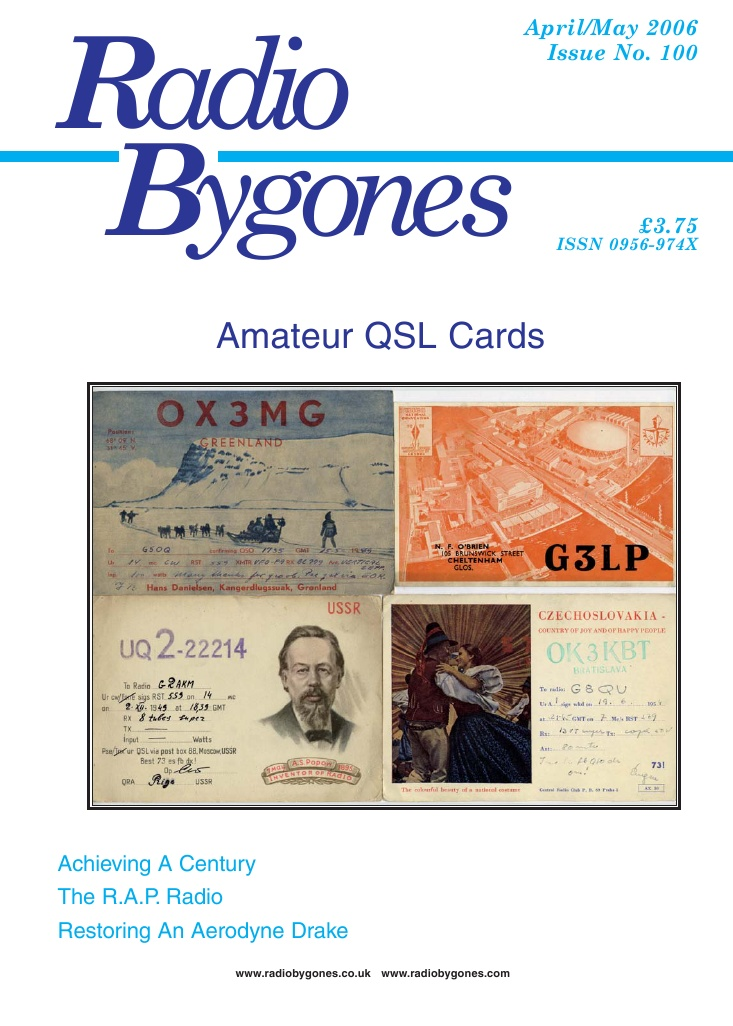 Radio Bygones Issue 100 - PDF