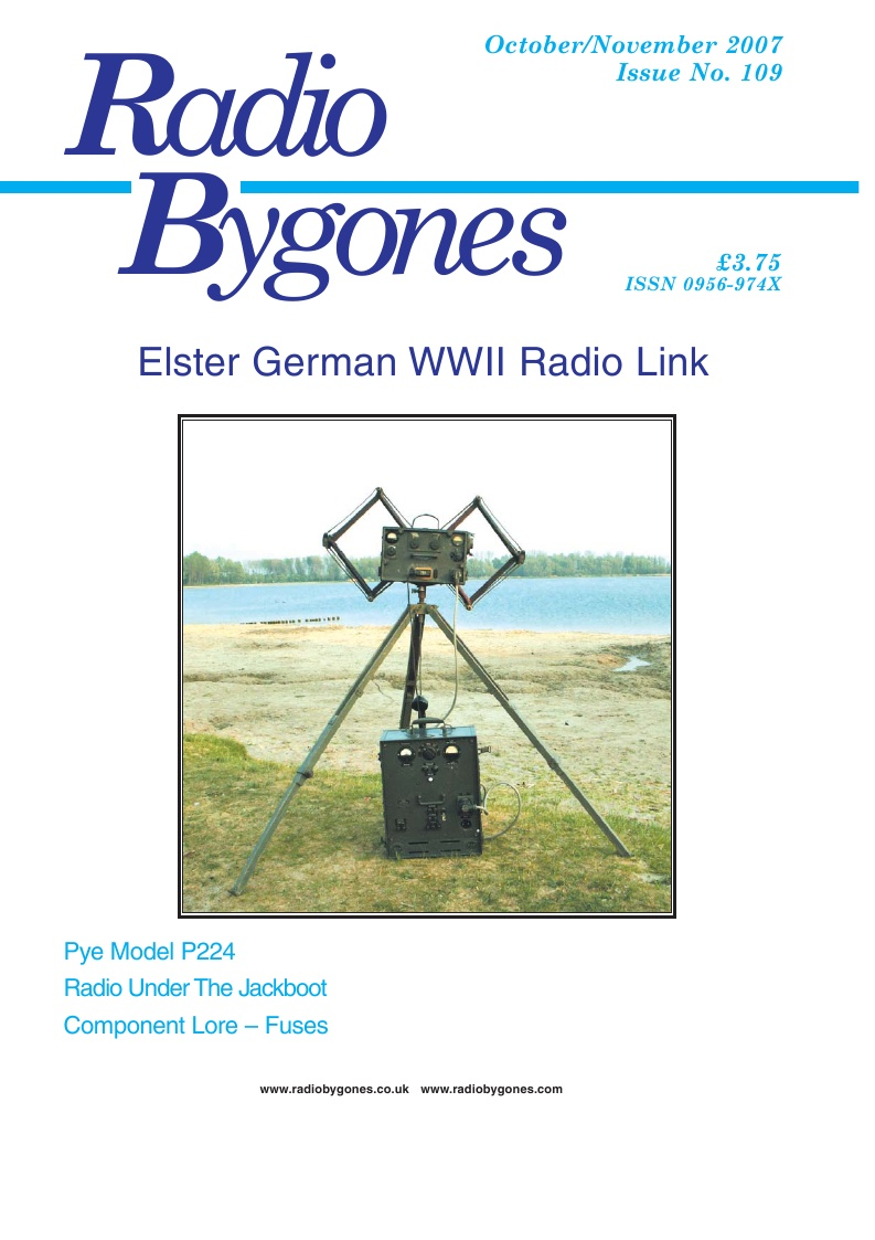 Radio Bygones Issue 109 - PDF