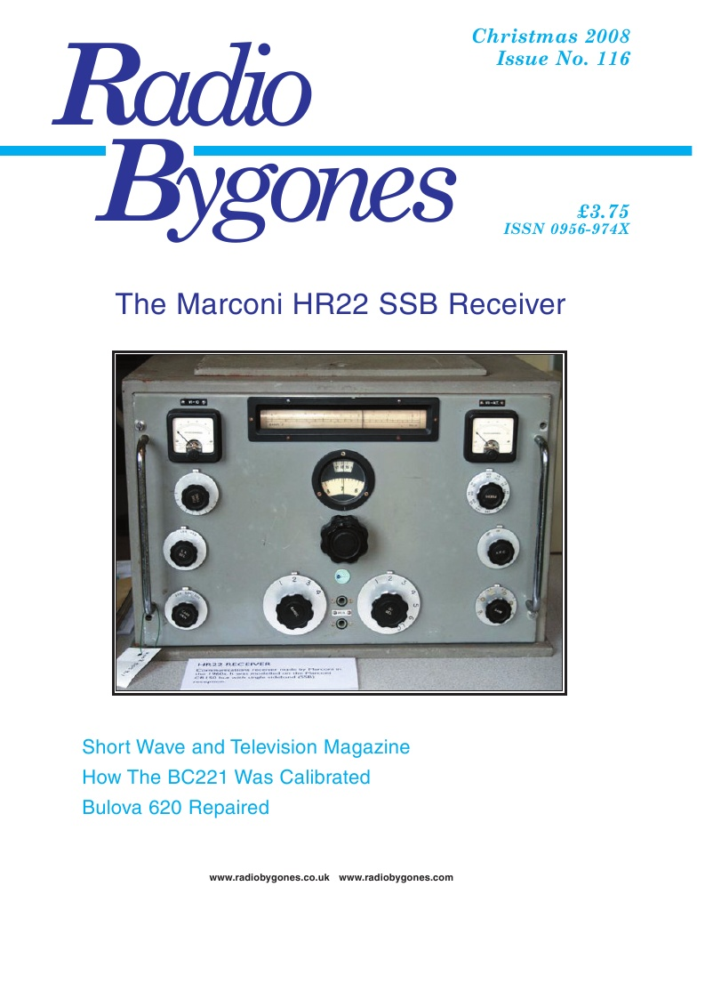 Radio Bygones Issue 116 - PDF