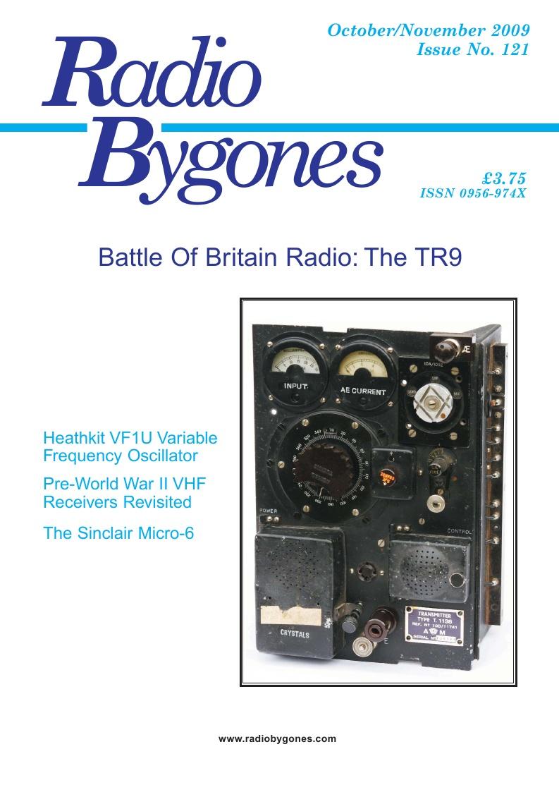 Radio Bygones Issue 121 - PDF, Radiophile Publications