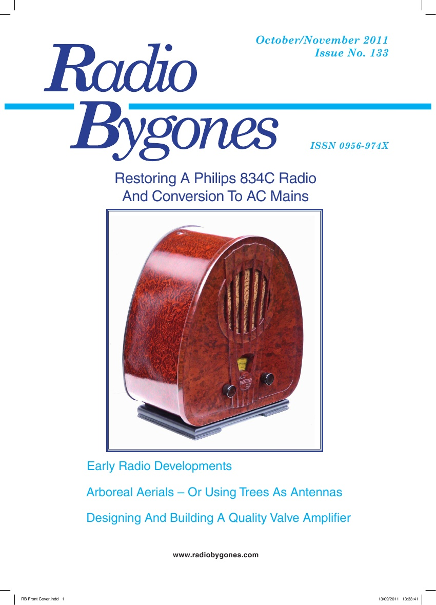 Radio Bygones Issue 133 - PDF