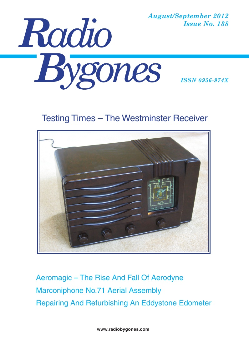 Radio Bygones Issue 138 - PDF