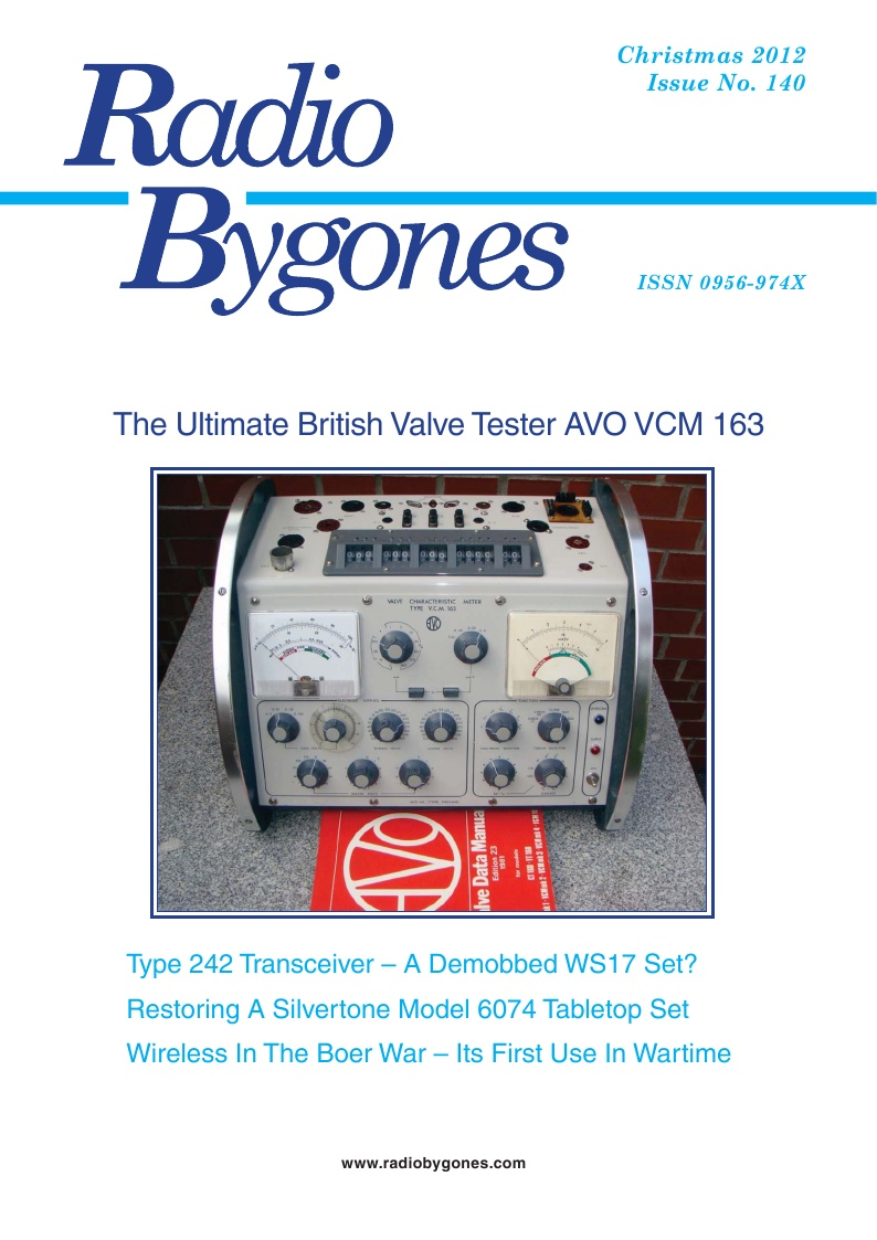 Radio Bygones Issue 140 - PDF