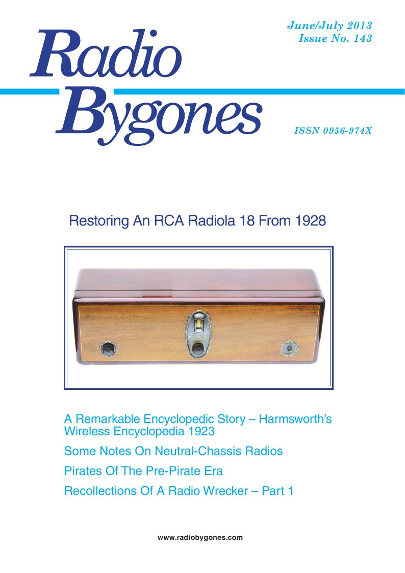 Radio Bygones Issue 143 - PDF
