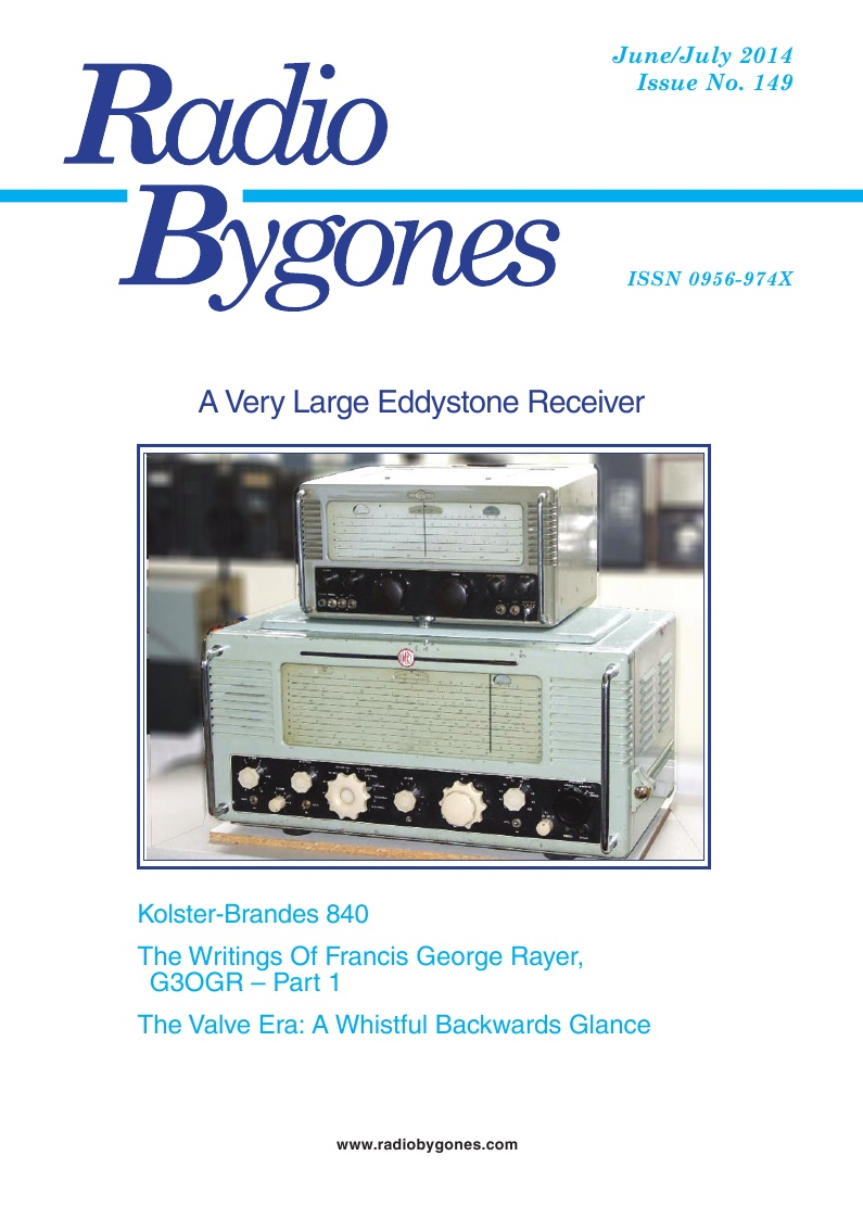 Radio Bygones Issue 149 - PDF