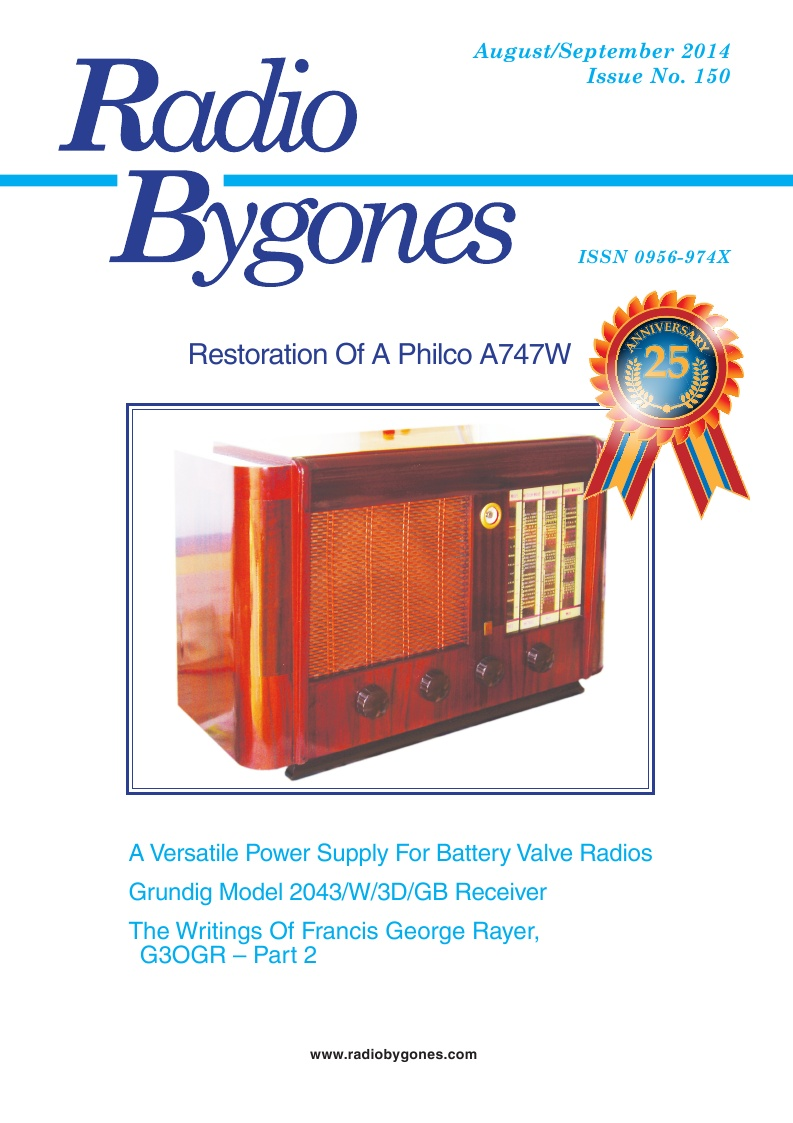 Radio Bygones Issue 150 - PDF