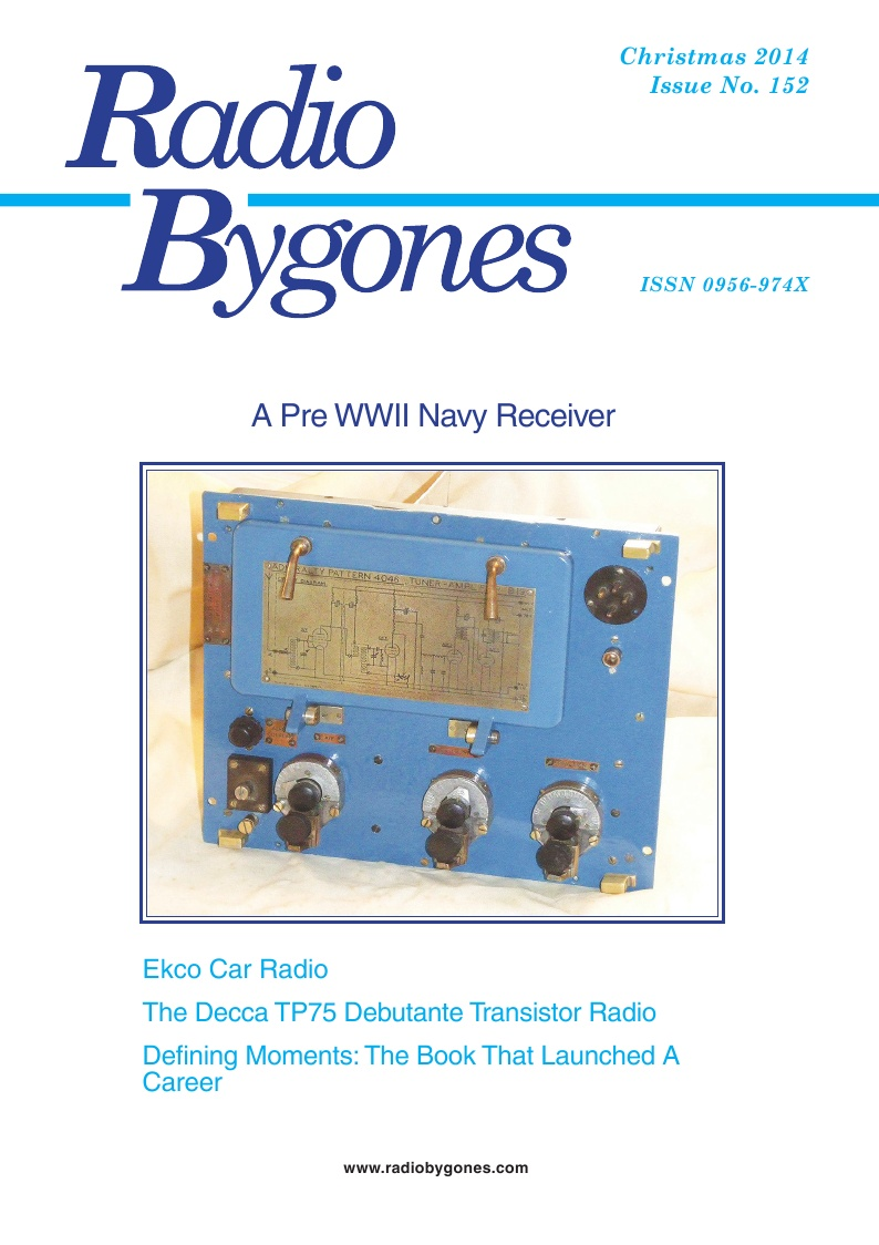 Radio Bygones Issue 152 - PDF