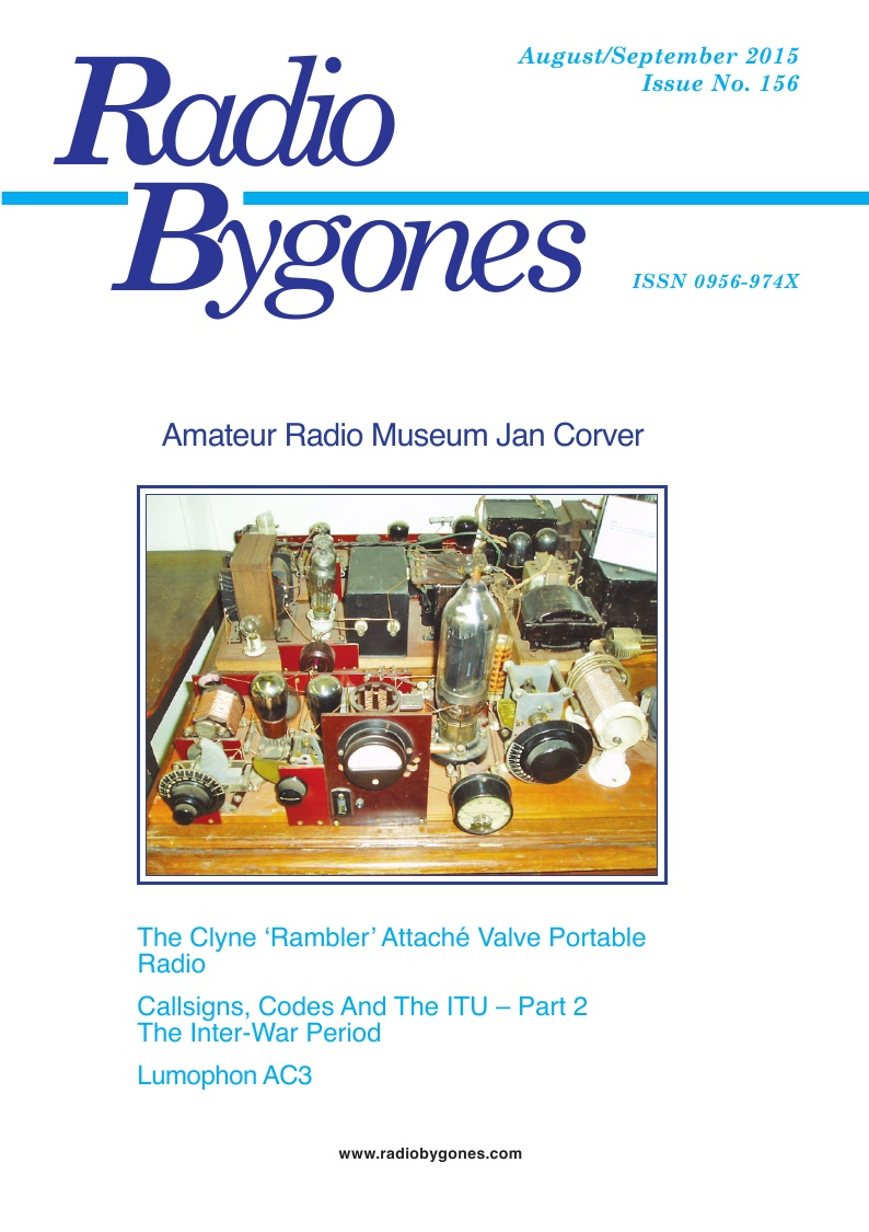 Radio Bygones Issue 156 - PDF