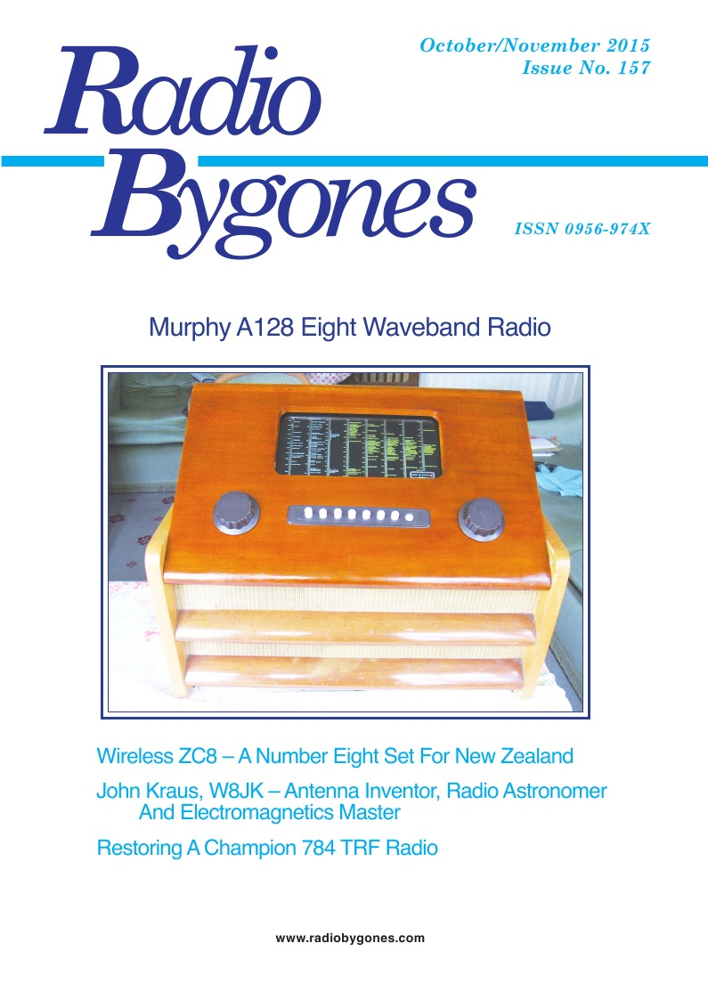 Radio Bygones Issue 157 - PDF