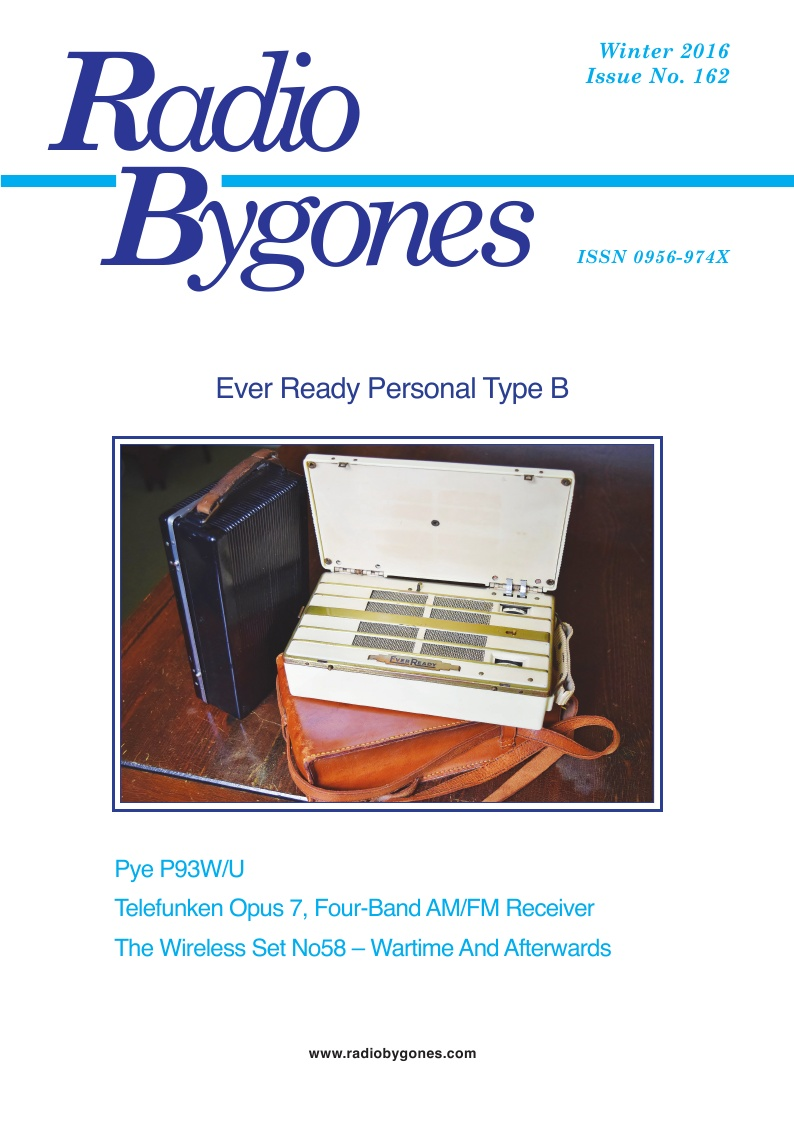 Radio Bygones Issue 162 - PDF